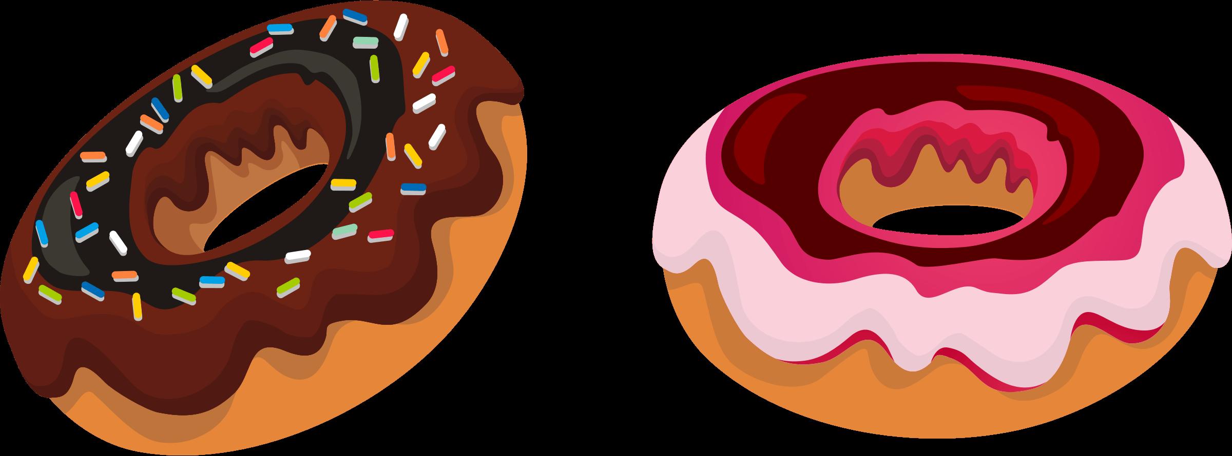 Dozen donuts cliparts image. Donut clipart outline