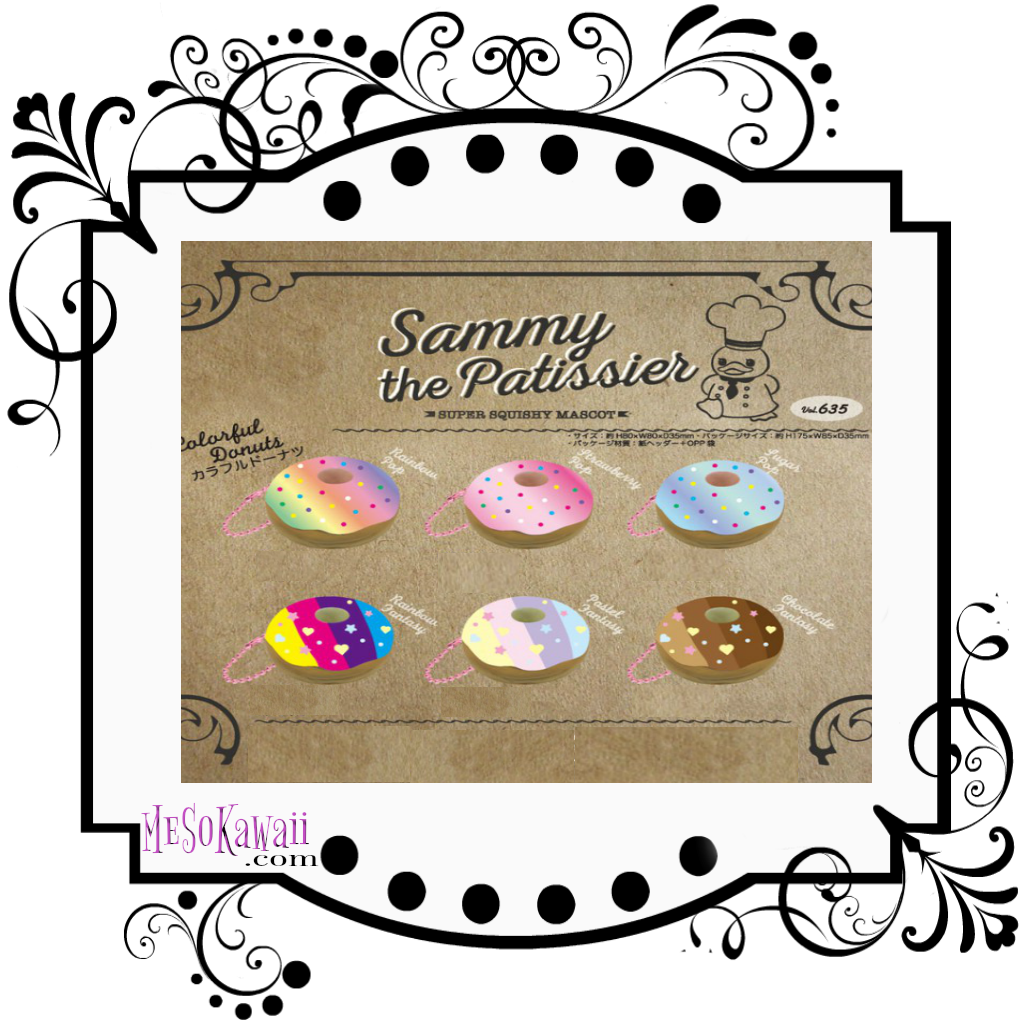 Sammy the patissier colorful. Donuts clipart pastel