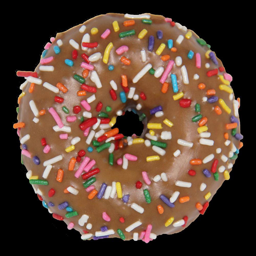 Doughnut clipart pastel. Menu slodoco donuts maple