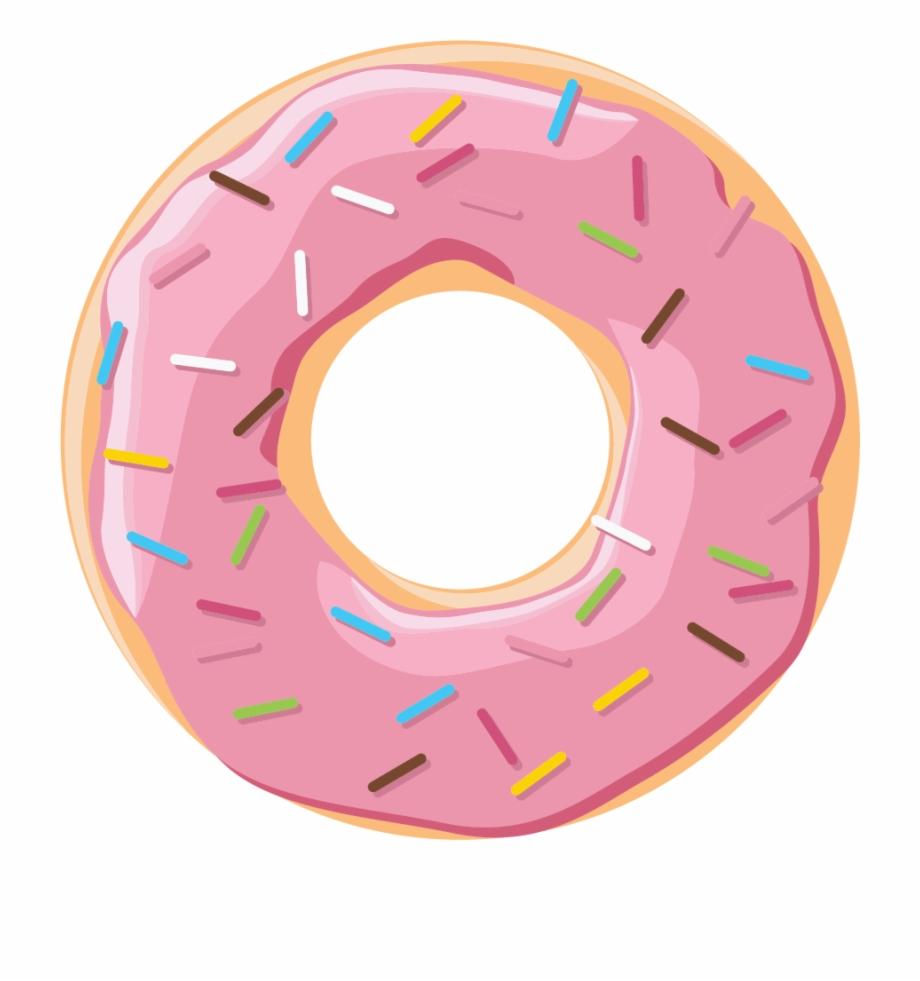 Hurts transparent pngtube . Donut clipart pink donut