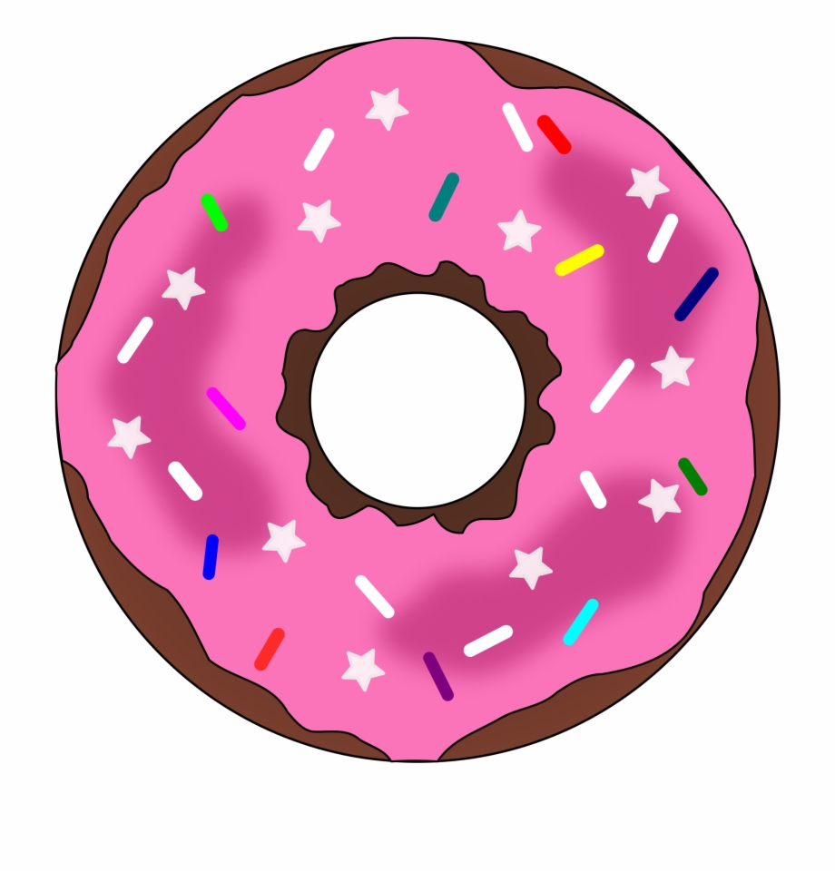 Donuts clipart clear background. Donut transparent