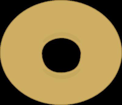 Donuts clipart plain. Donut