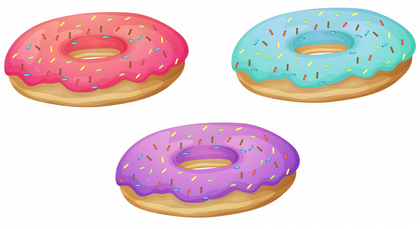 Donut image high quality. Donuts clipart printable