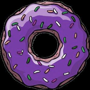 Doughnut clipart purple. Donut x free clip
