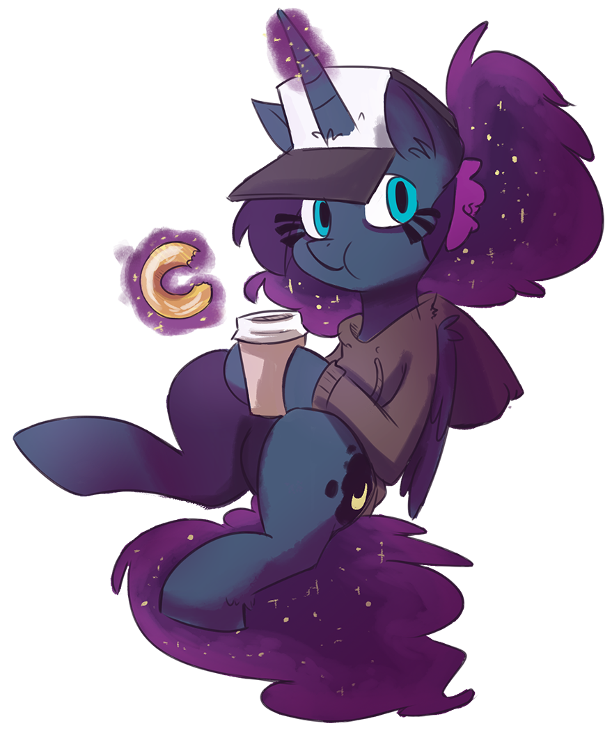Donut clipart purple.  artist herny clothes