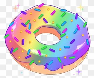 jun aesthetic transparent. Donut clipart purple