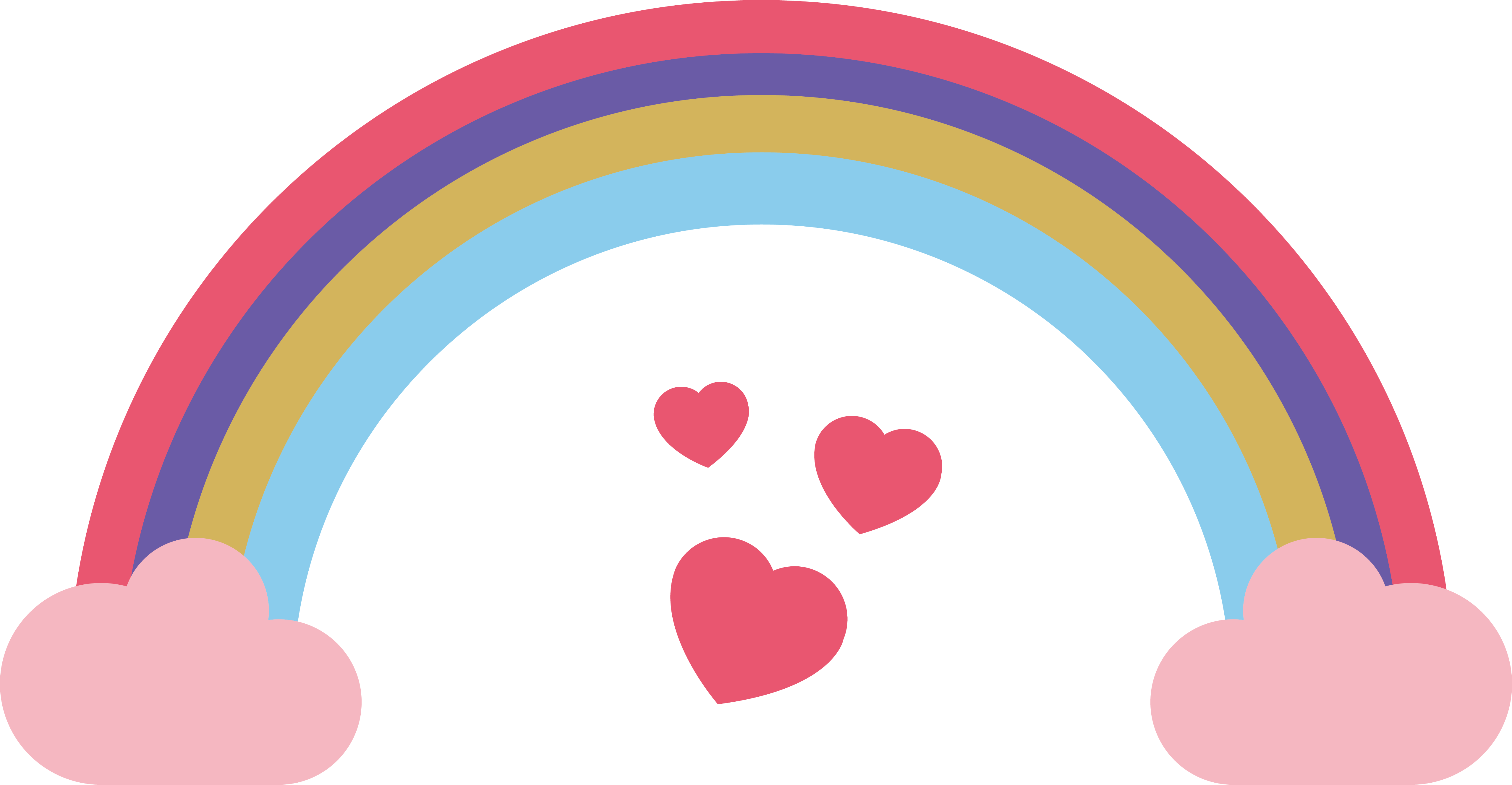 Bridge clip art beautiful. Donut clipart rainbow