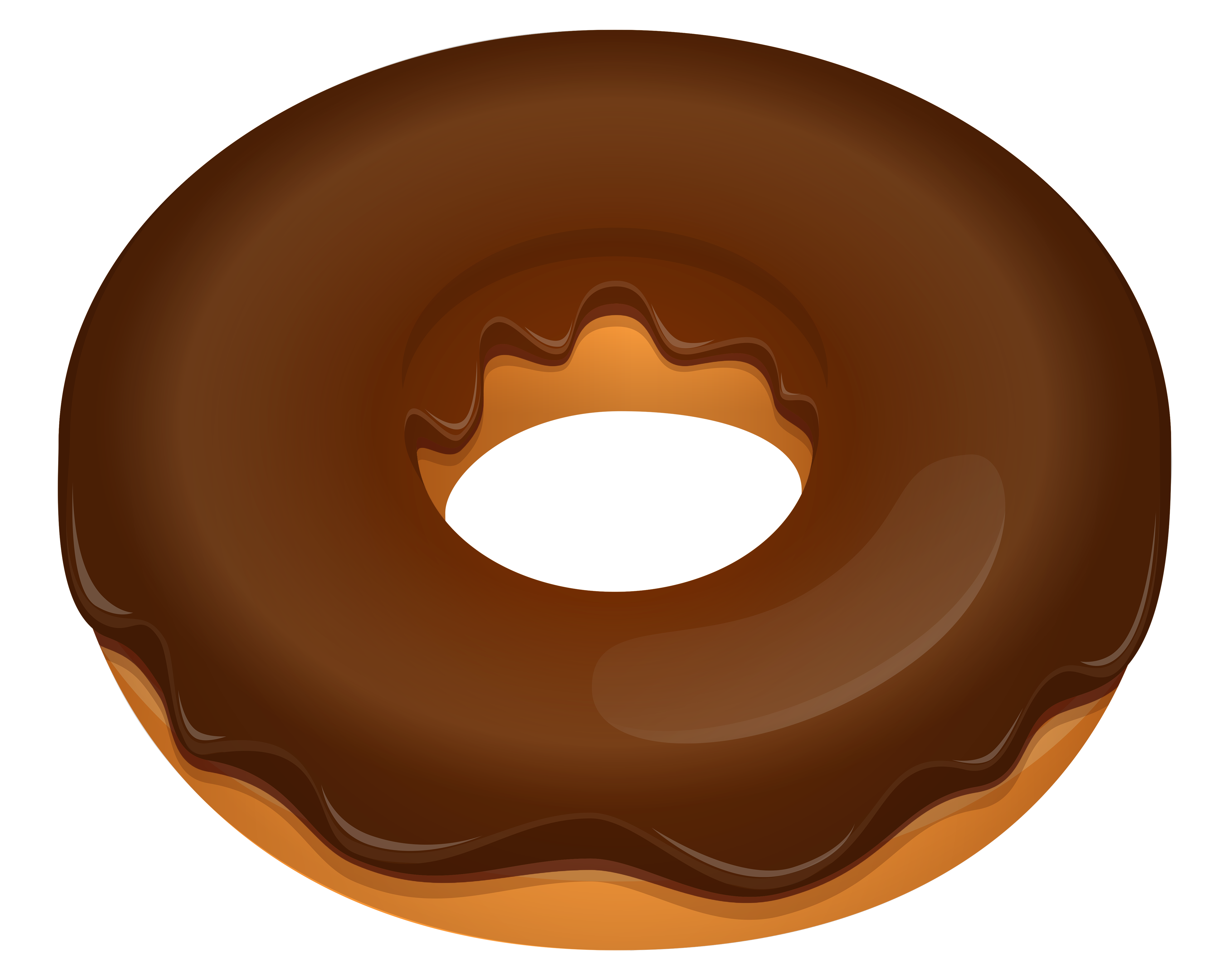 Clip art . Donut clipart red