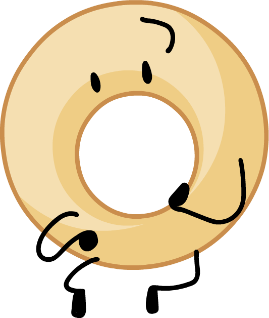Donuts clipart round object. Donut battle for dream