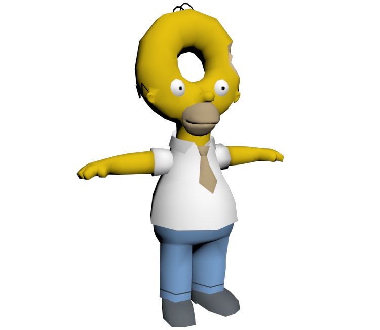 Donut clipart simpsons donut. Pc computer the hit