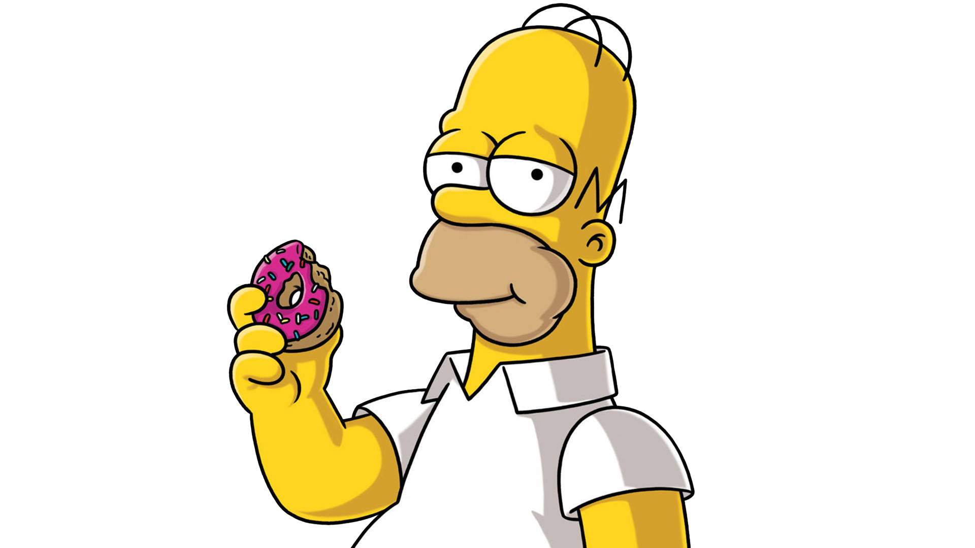 Bild what homer simpson. Donut clipart simpsons donut