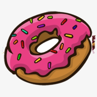 Donut clipart simpsons donut. Free donuts cliparts silhouettes