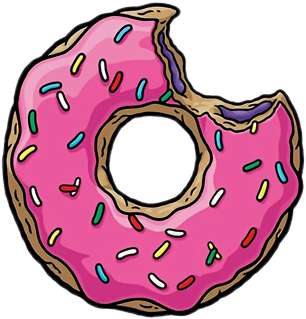 Donut clipart simpsons donut. The tapped out homer