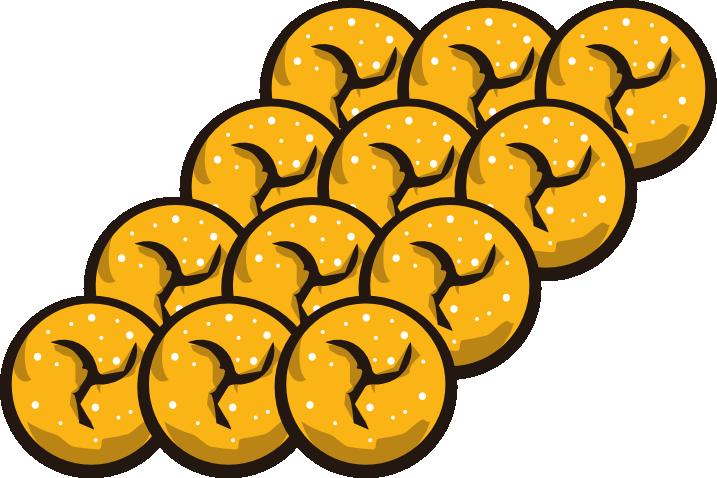 Donuts clipart small. Manx mini the donut
