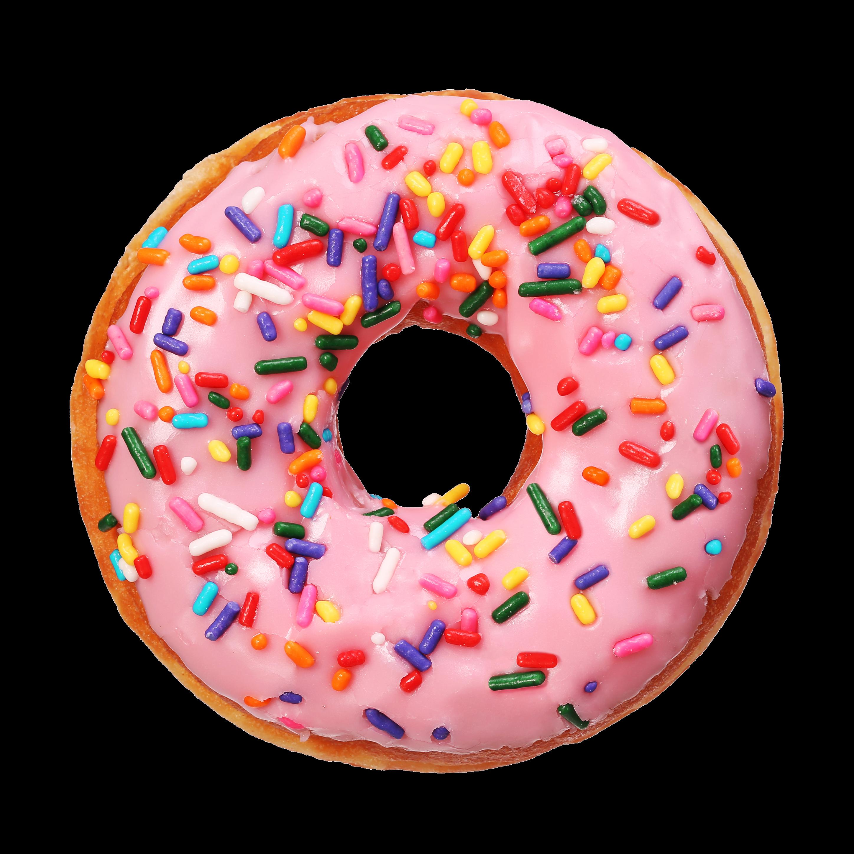 Ftestickers genfest summer sweet. Donut clipart sprinkled donut
