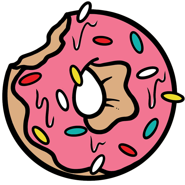 The most illustrious in. Donuts clipart circle