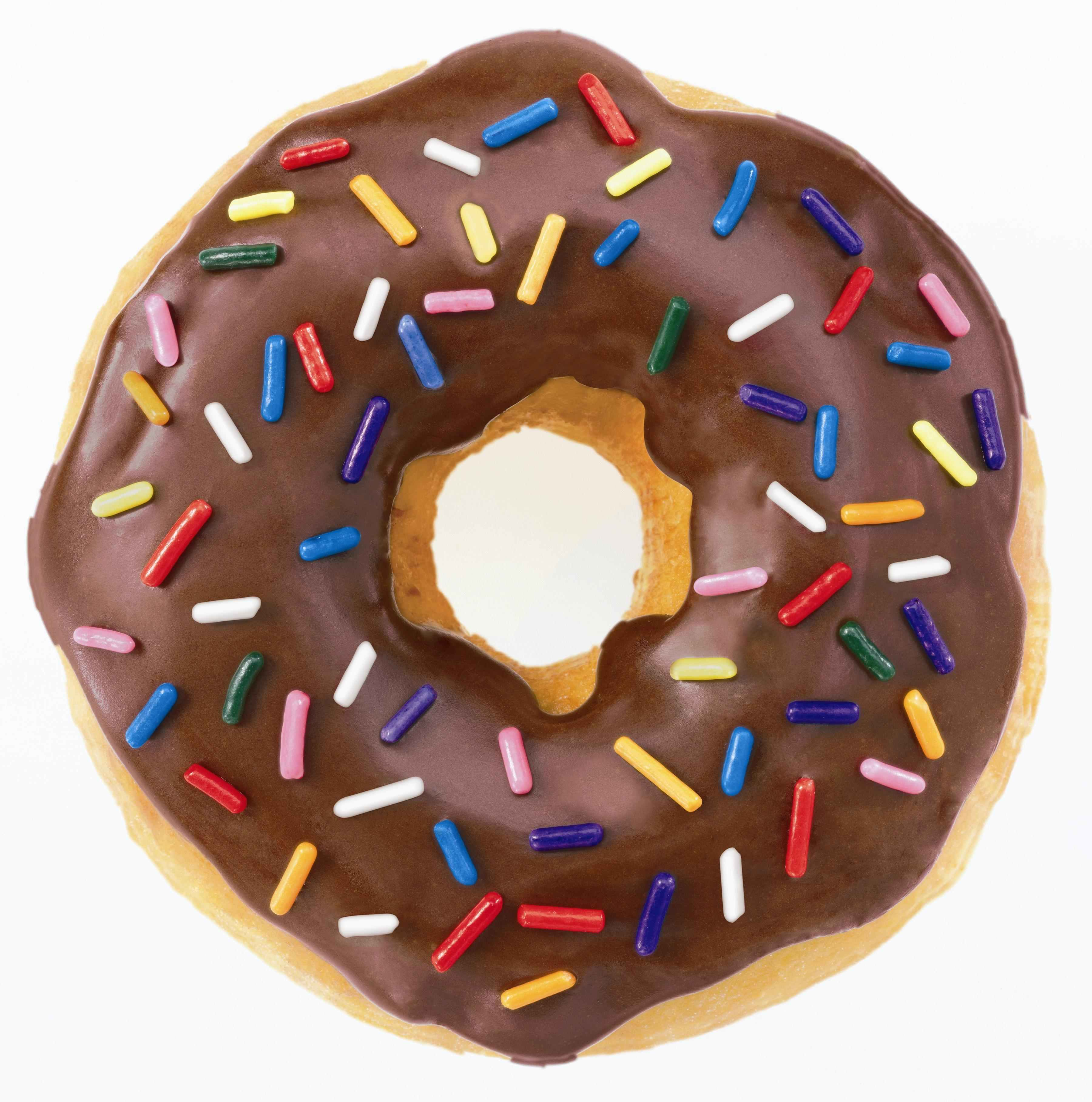 Donut clipart sprinkled donut. Free picture download clip