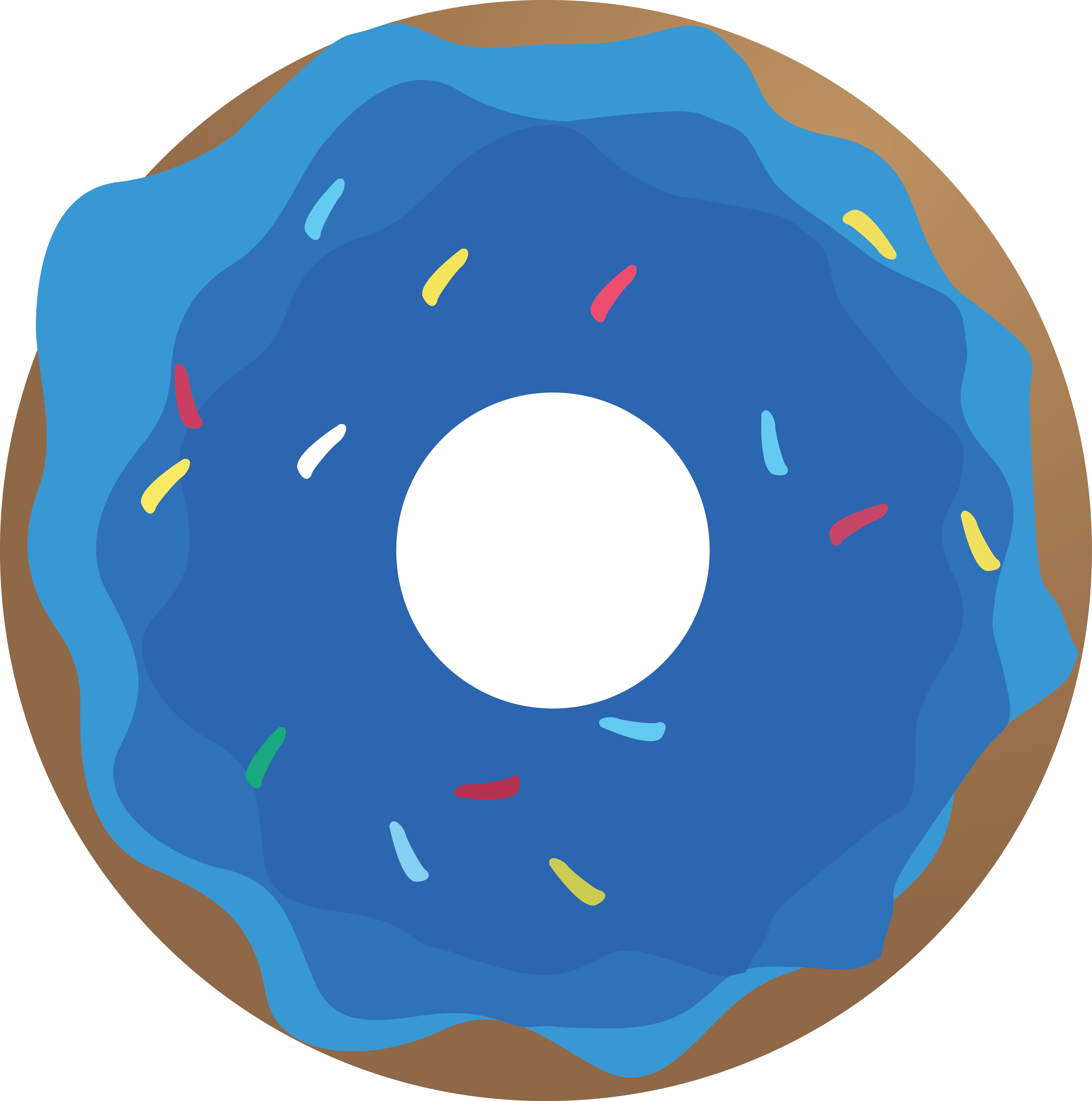 Doughnut clipart blue. Donut png all about