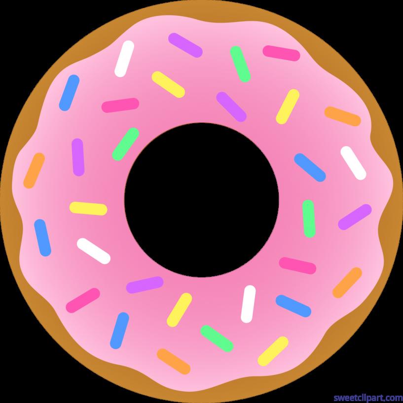 Donuts clipart strawberry. Donut jokingart com