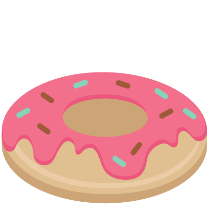 Donut clipart svg. Pin on cutting files