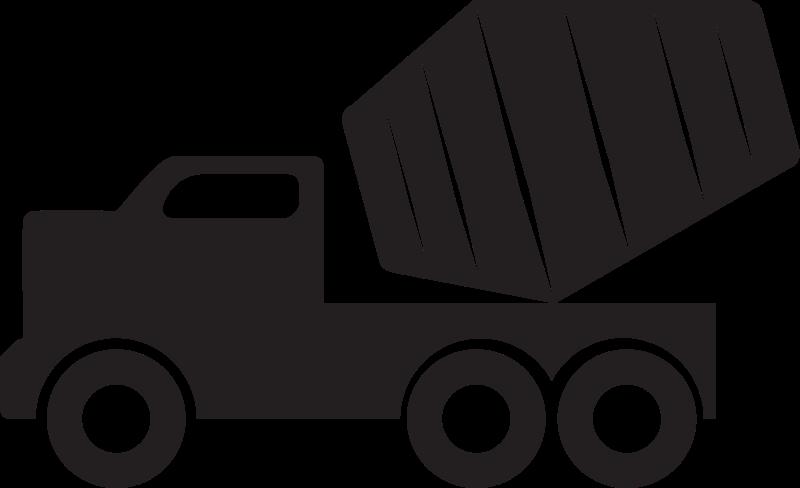 Concrete mixer cement clip. Donut clipart truck