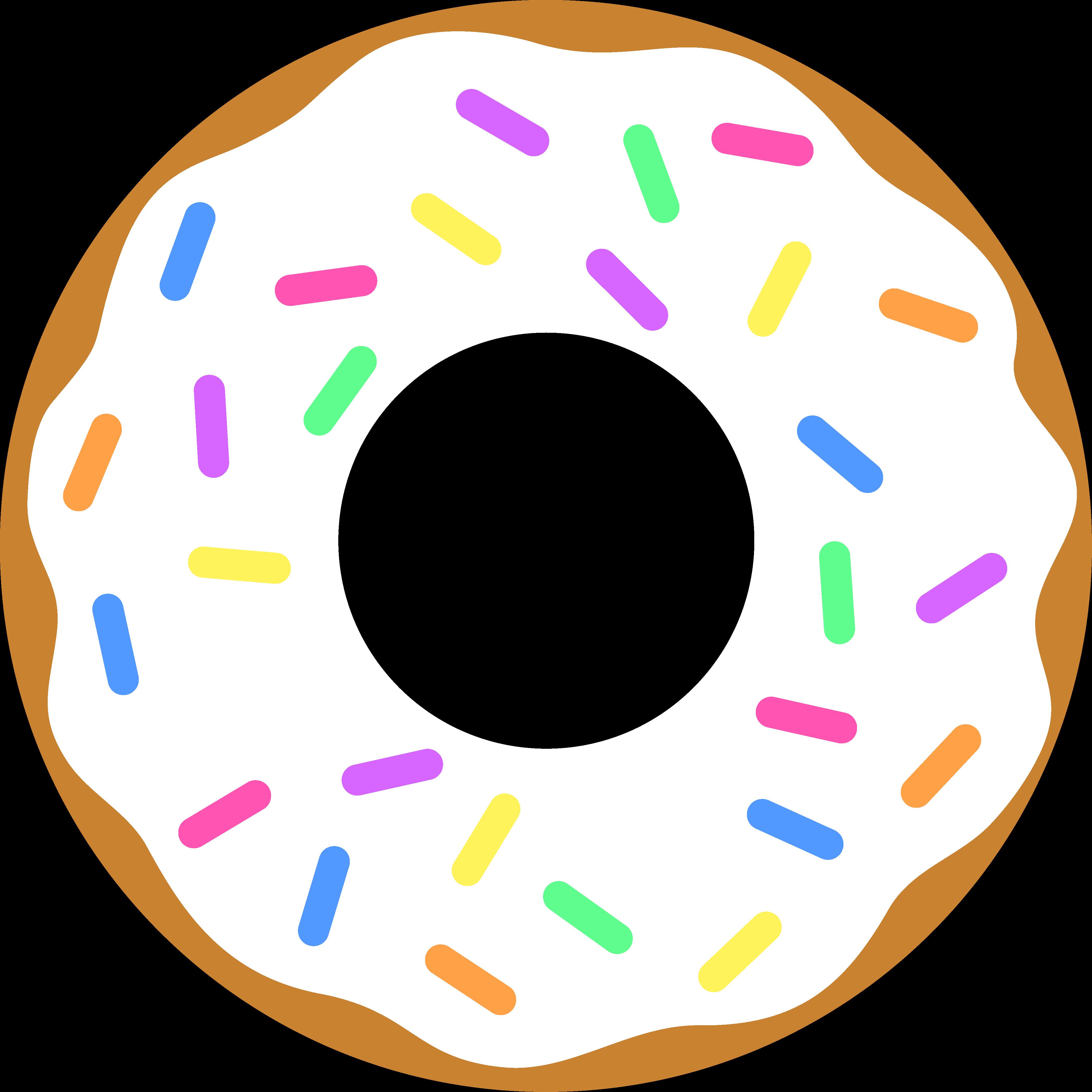 Clip art frames illustrations. Donuts clipart beignet
