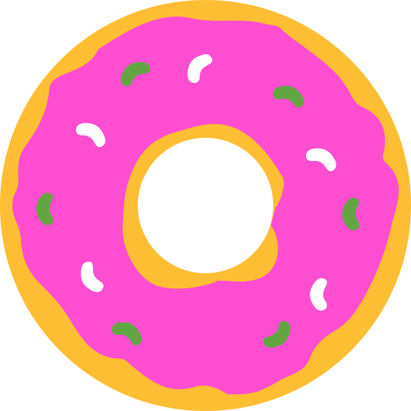 File simpsons donut wikipedia. Wheel clipart svg