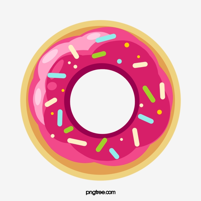 Donut cake donuts png. Doughnut clipart red