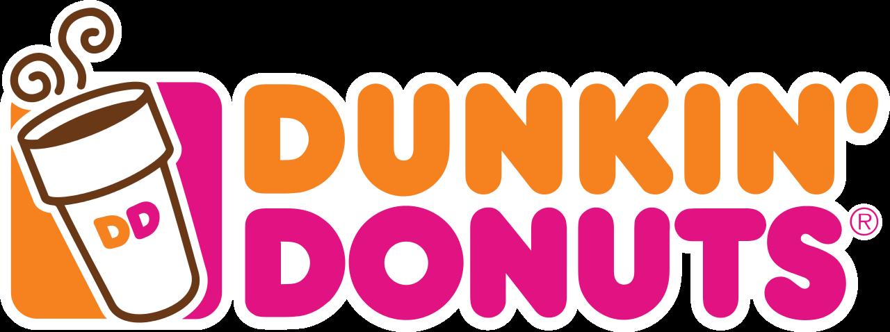 Donut clipart word. Dunkin donuts logo google