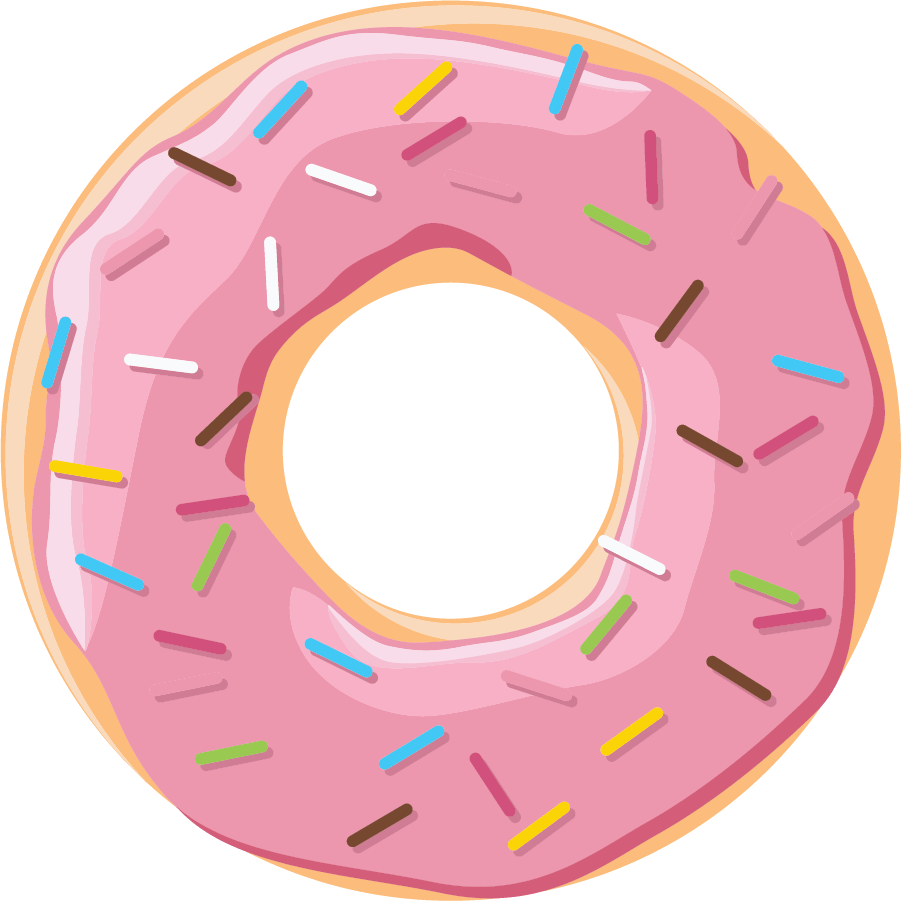 Doughnut clipart word. Donut cliparts for free