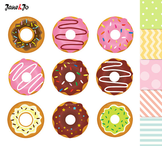 off sale digital. Donuts clipart