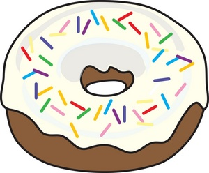 Donut clipart. Coffee and donuts panda