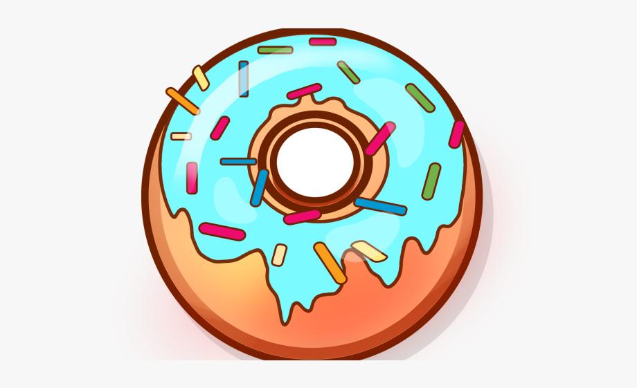 Dunkin donuts blue cute. Doughnut clipart vanilla donut
