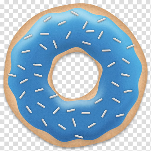 Doughnut clipart blue. Mega and brown donut