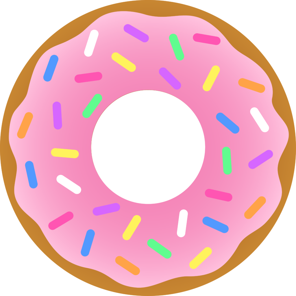 It s national donut. Donuts clipart candy