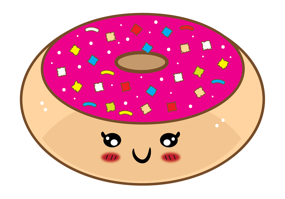 Donuts clipart christmas. Skeleton bone free collection