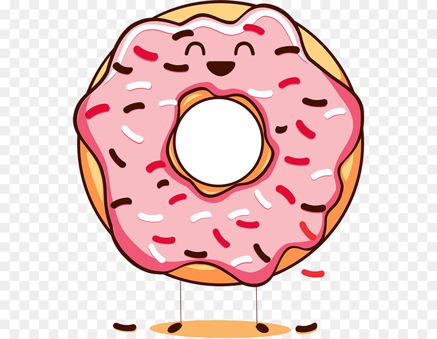 Donuts clipart donut day. Happy national doughnut cream