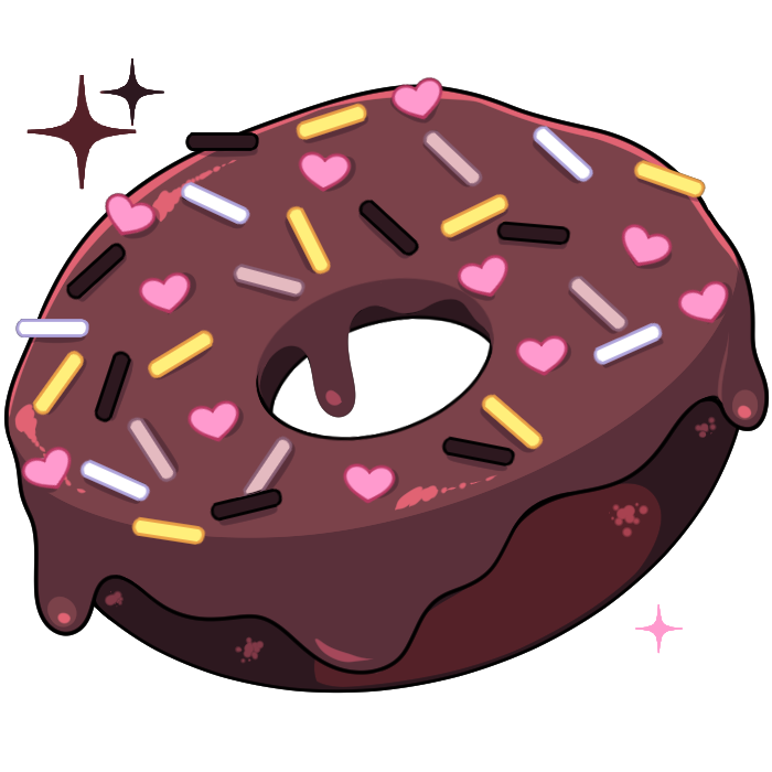 Donuts clipart donut day. Ashi otakon despacito on