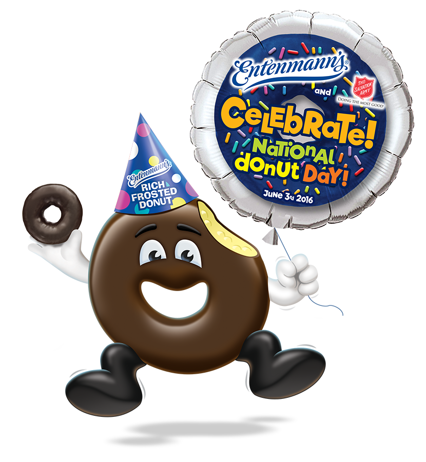 National entenmann s prize. Donuts clipart donut day