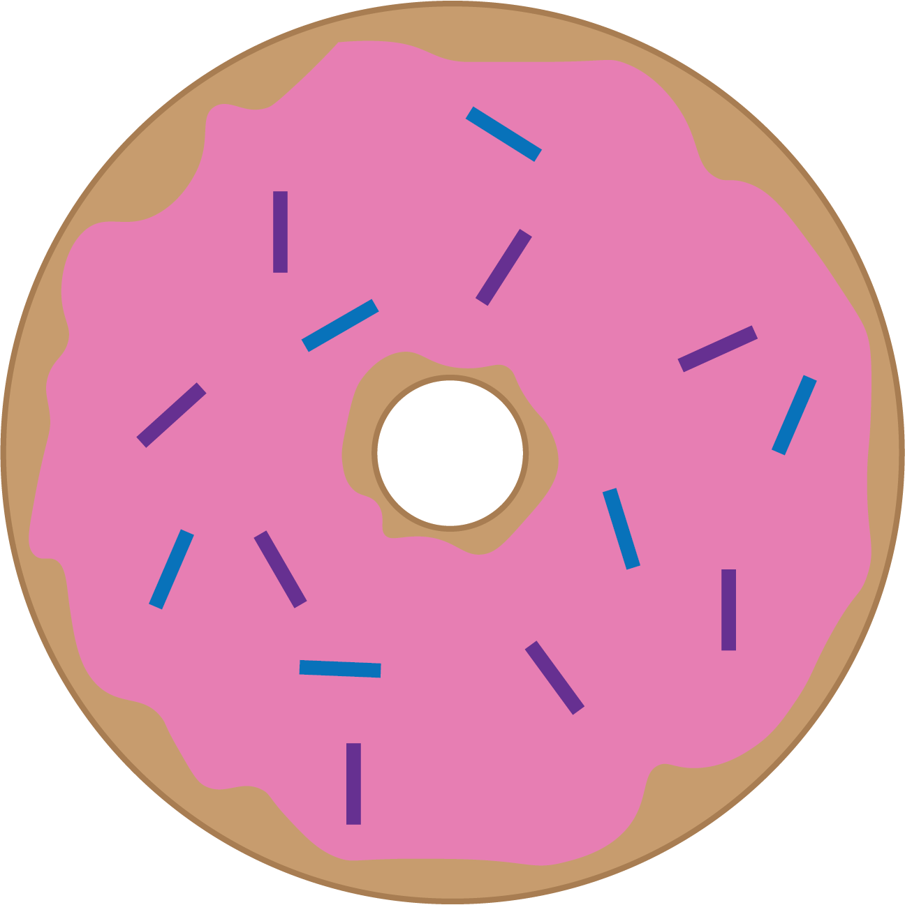 Donuts clipart donut day. It s national doughnut