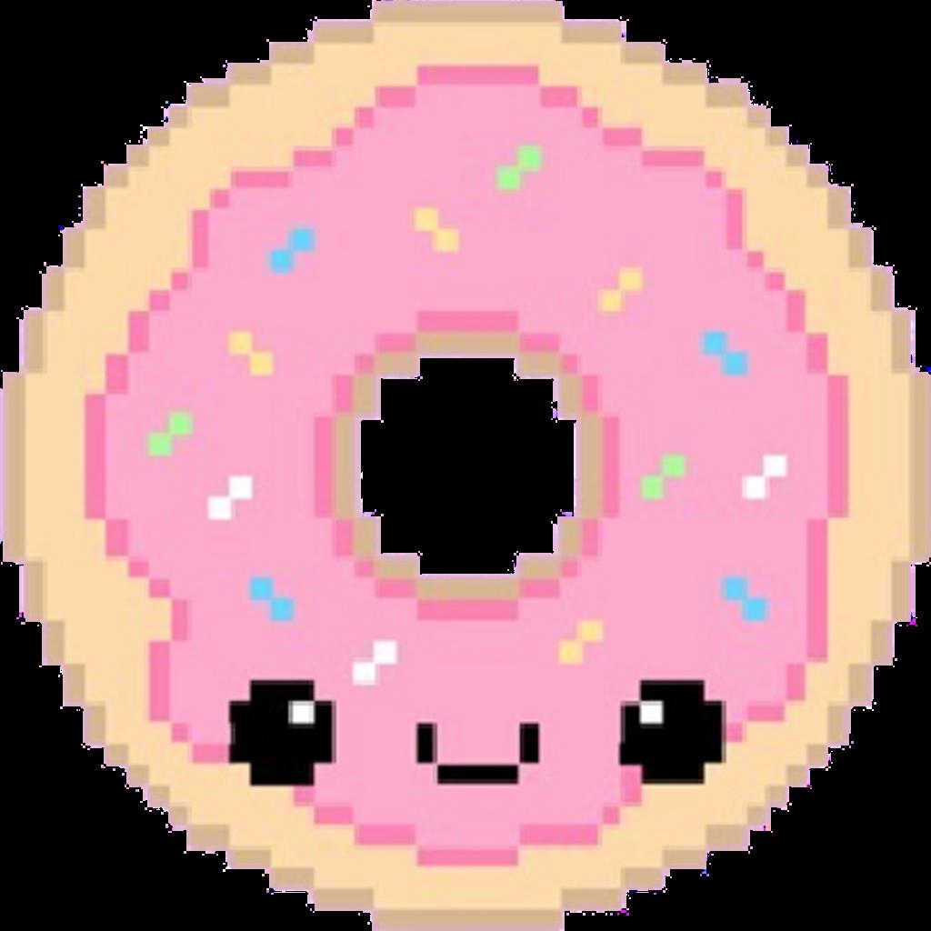 Dona donas pixel pixels. Donuts clipart donut tumblr
