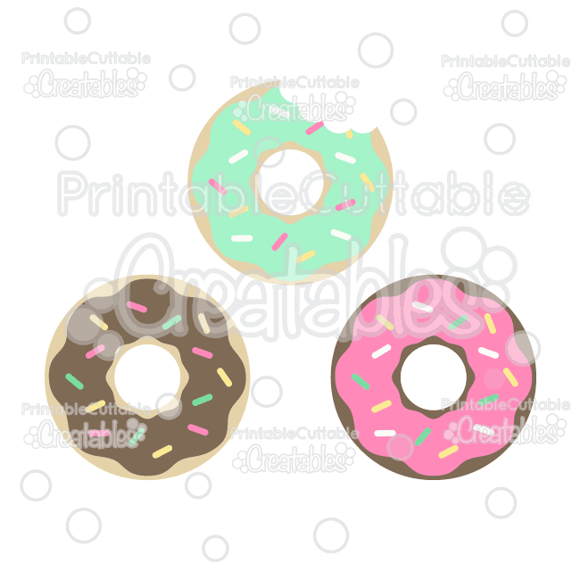 Party balloons cuttable free. Doughnut clipart svg