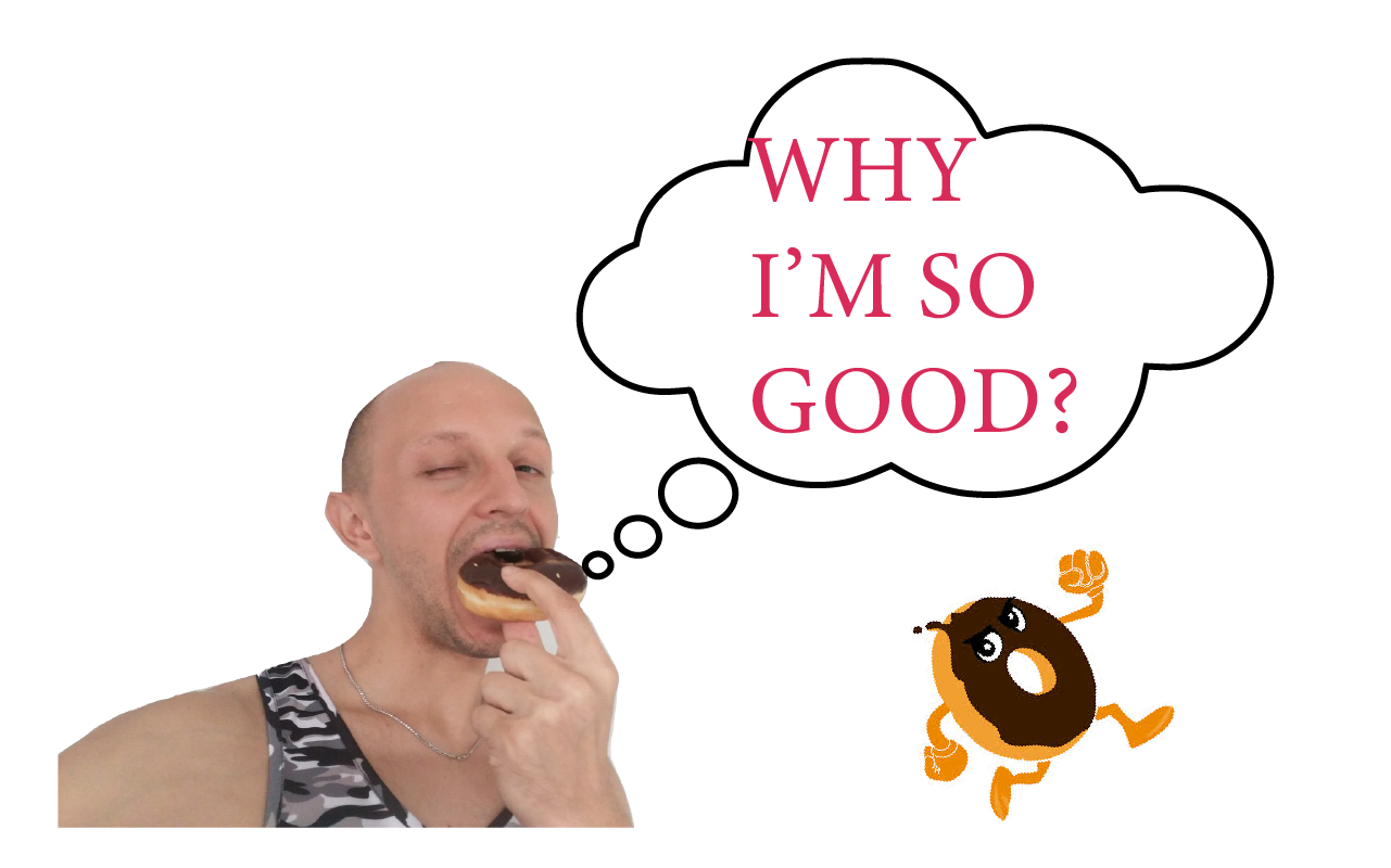 Donuts clipart food taste. Why do so good