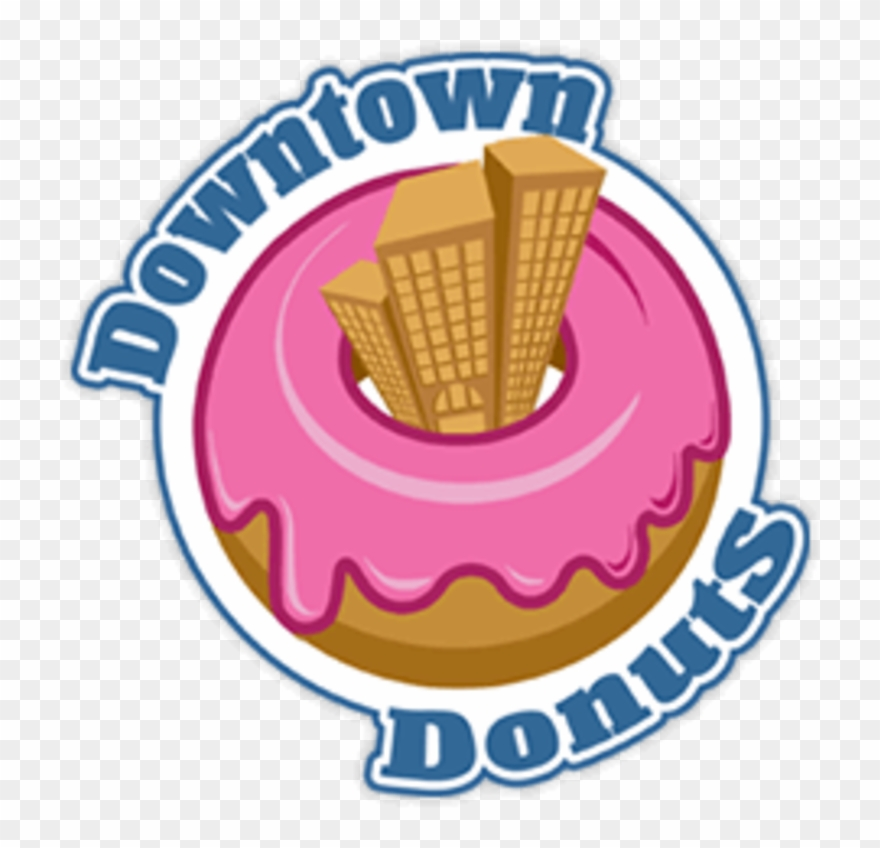 Downtown png download . Donuts clipart food taste