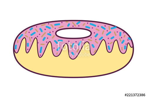 Sweet donut dessert stock. Donuts clipart food taste