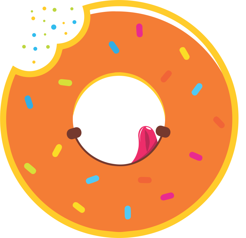 Donuts clipart food taste. Sanjos the journey with