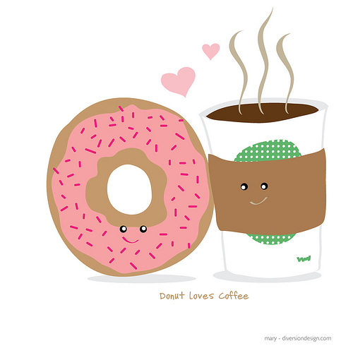 Donuts clipart kid. Coffee and clipartbarn