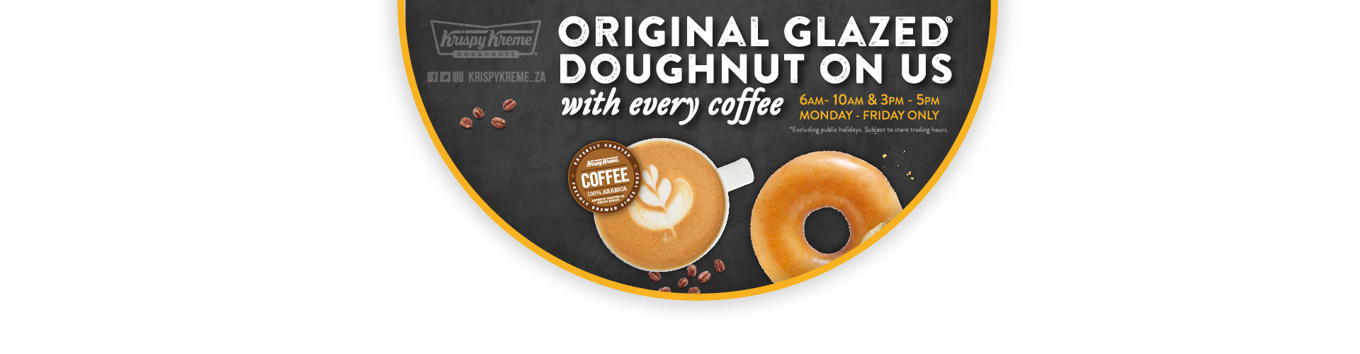 Donuts clipart krispy kreme doughnuts. South africa and coffees