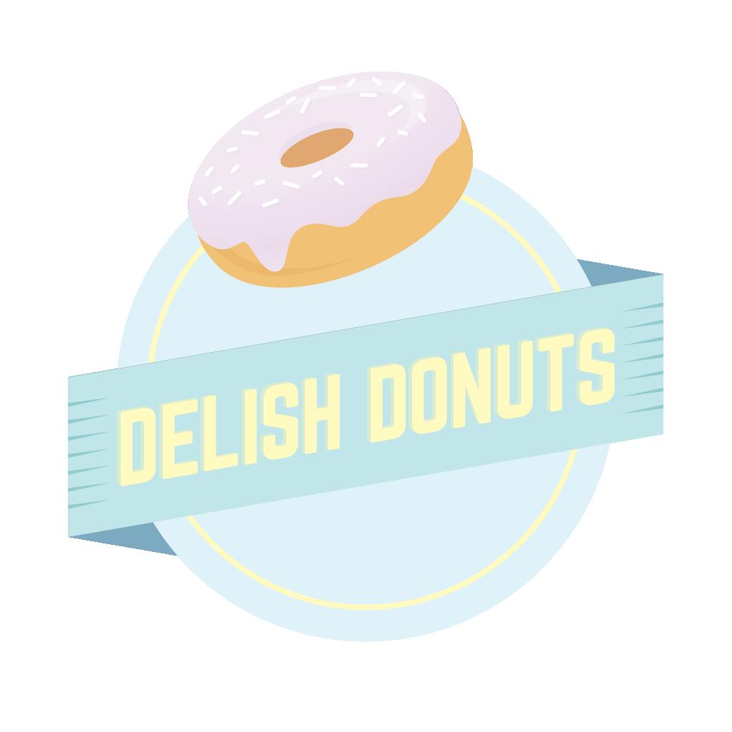 Donuts clipart mini donut. Delish fresh tasty food