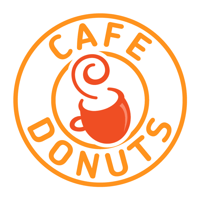 Cafe sweeten your day. Donuts clipart muffin